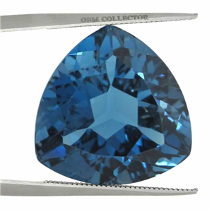 blue swiss topaz gem mm oval gemstone from carat brazil